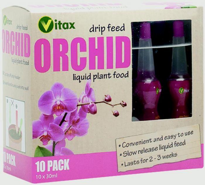 Vitax Orchid Drip Feed 30Ml X 10