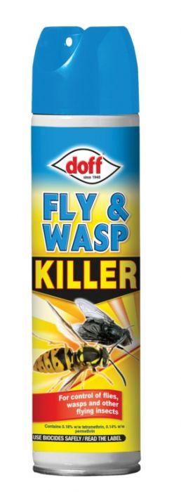Doff Fly & Wasp Killer 300Ml Aerosol