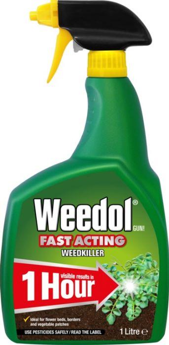 Weedol Fast Acting Weedkiller 1L Rtu