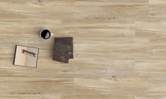 Halcon Baltimore Porcelain Wood Effect Tile 1.27M2 Natural Oak