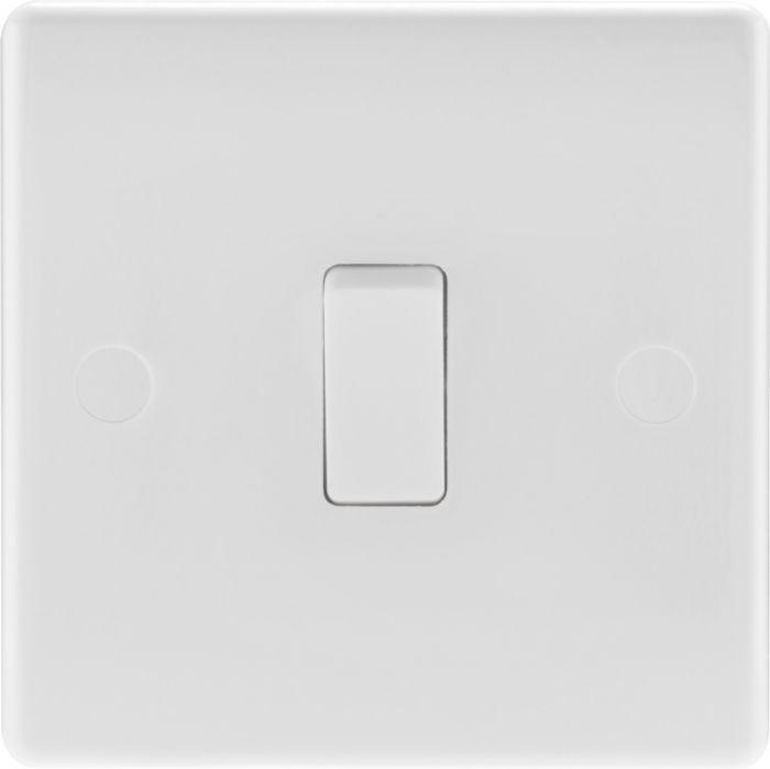 Nexus 2 Way White Round Edge Switch 1 Gang