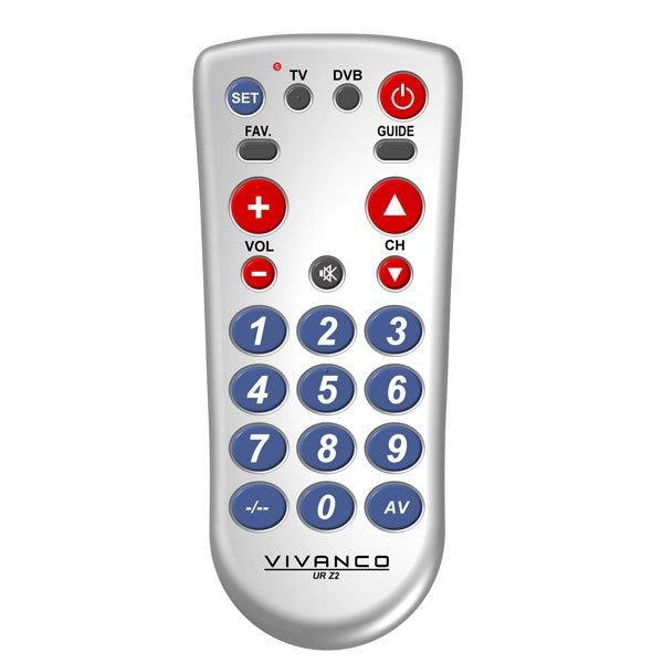 Vivanco Big Button Remote Control