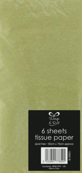 Metallic Tissue Paper 70 X 50Cm