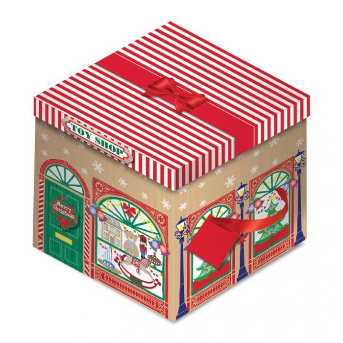 Toy Shop Square Flat Box