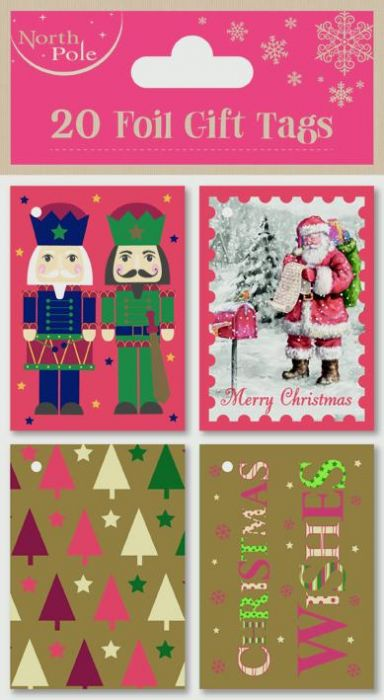 Mixed Booklet Tags