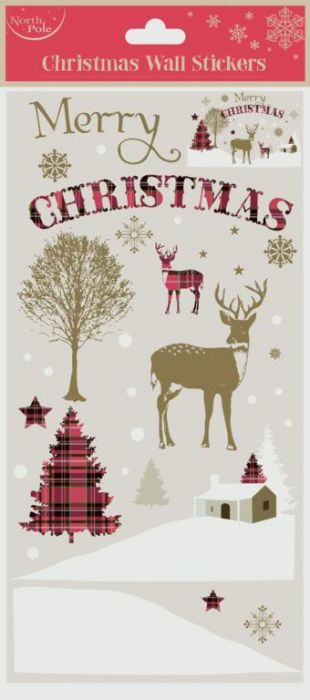 Wall Stickers Xmas Stag