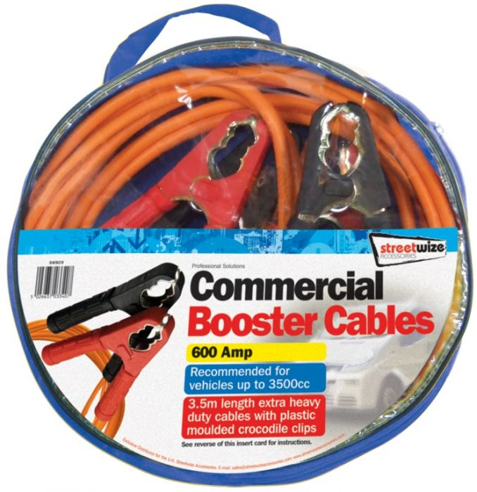 Streetwize Booster Cables 3.5M