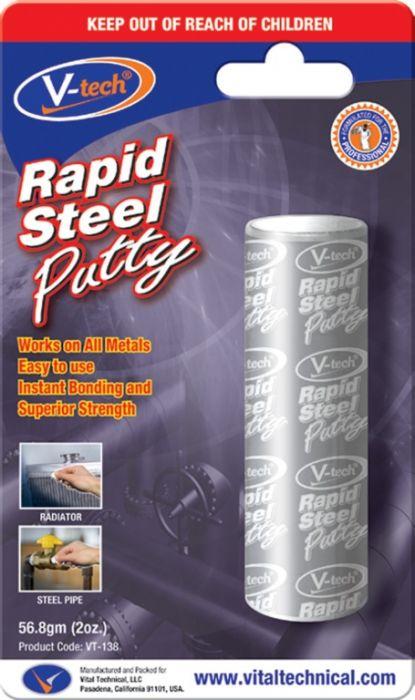 Streetwize Rapid Steel Epoxy Adhesive 56.8Gm