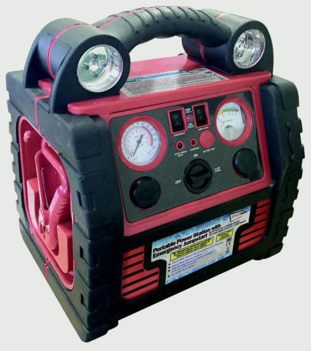 Streetwize 6 In1 Power Pack With Lights 12V