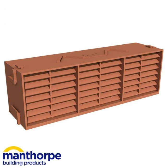 Manthorpe Airbrick Terracotta 9X3