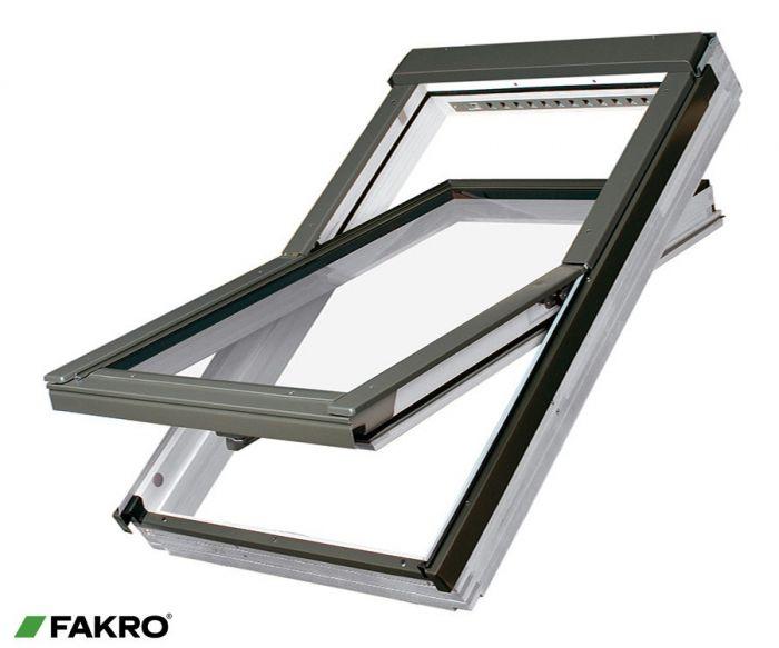 Fakro Whte Acrylic Centre Pivot Window 55X98