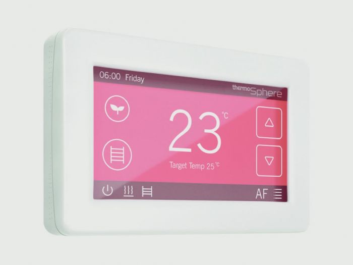Thermosphere Dual Control Thermostat With Wifi White 20A