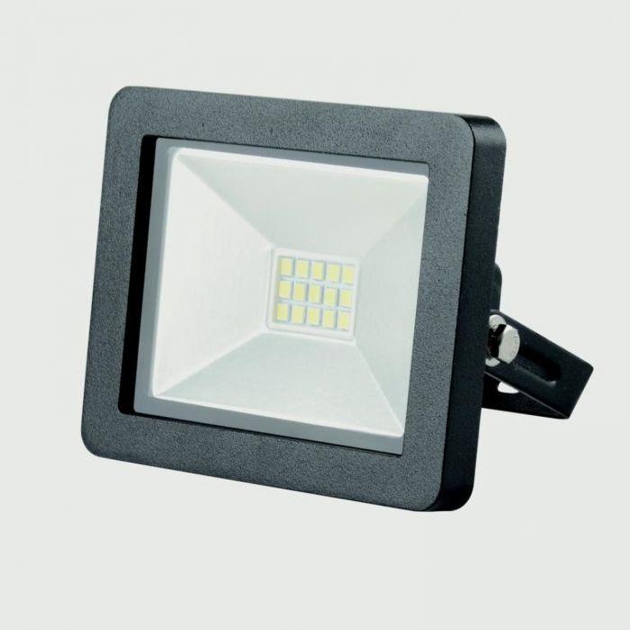 Lyveco Led Slim Floodlight 800 Lumens Black 10W