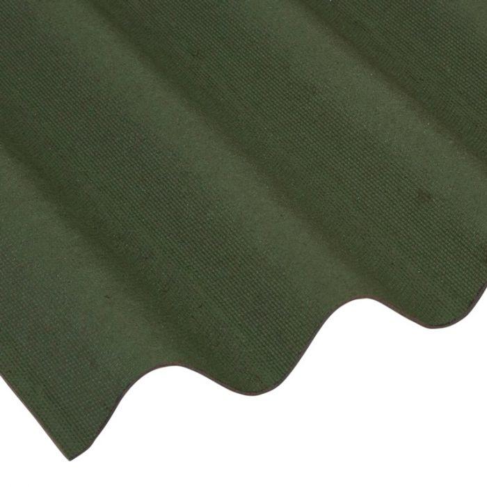 Ariel Coroline Bitumen Sheet Green 950Mm X 2000Mm