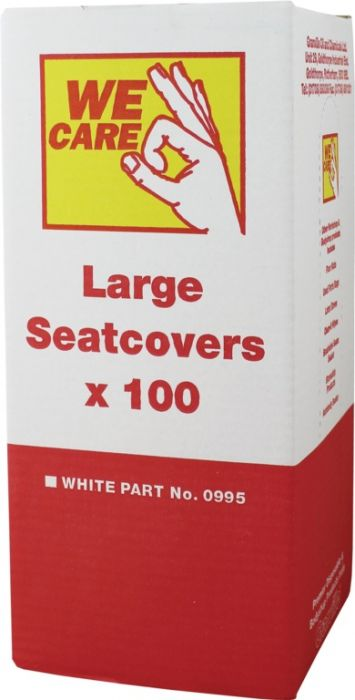 Granville Chemicals Seat Covers White