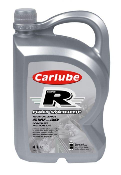 Carlube Triple R 5W-30 Fully Synthetic 4L