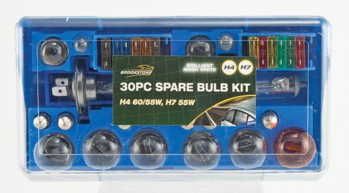 Brookstone Car Bulb Set 30 Piece