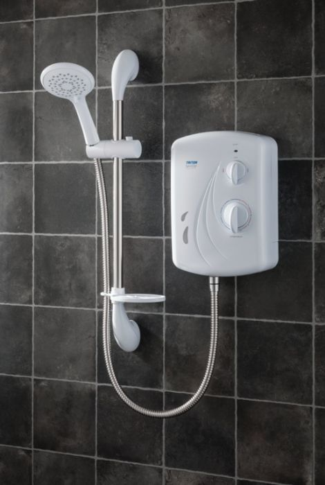 Triton Seville Electric Shower White 9.5Kw