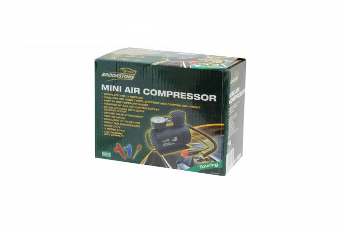 Brookstone Mini Air Compressor 250Psi