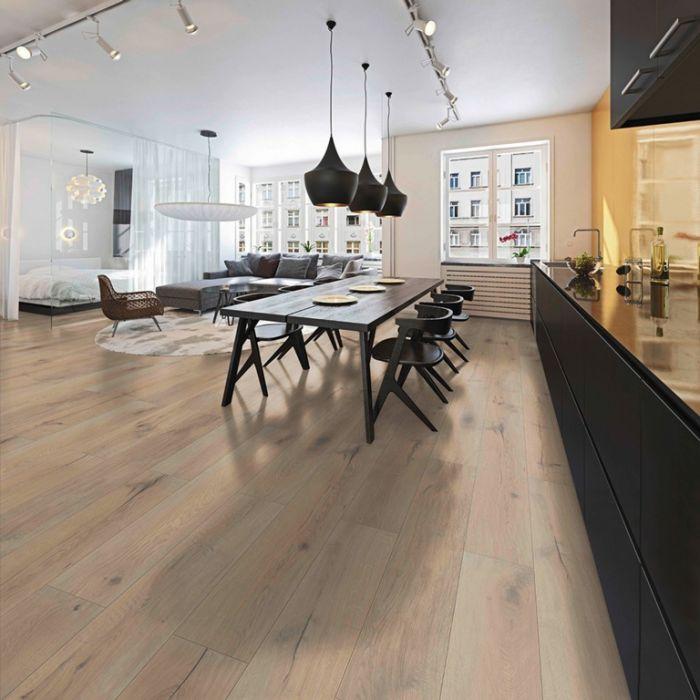 Classen Praia Oak V-Groove Laminate Flooring 1.996M2 1286Mm X 194Mm X 8Mm