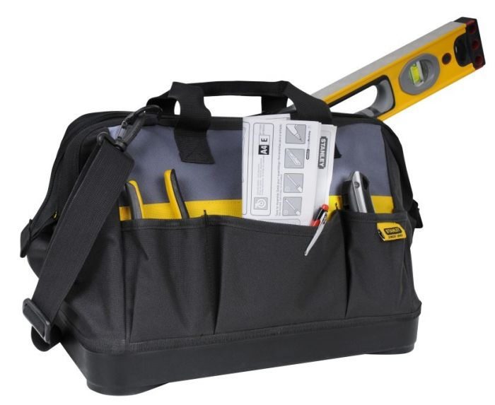 Stanley Open Mouth Tool Bag 16Inch