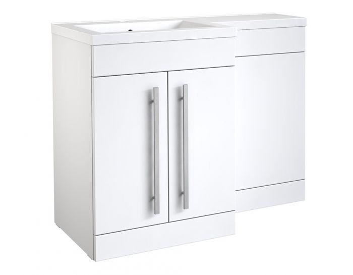 Kvit Matrix Wc Unit Gloss White 500Mm