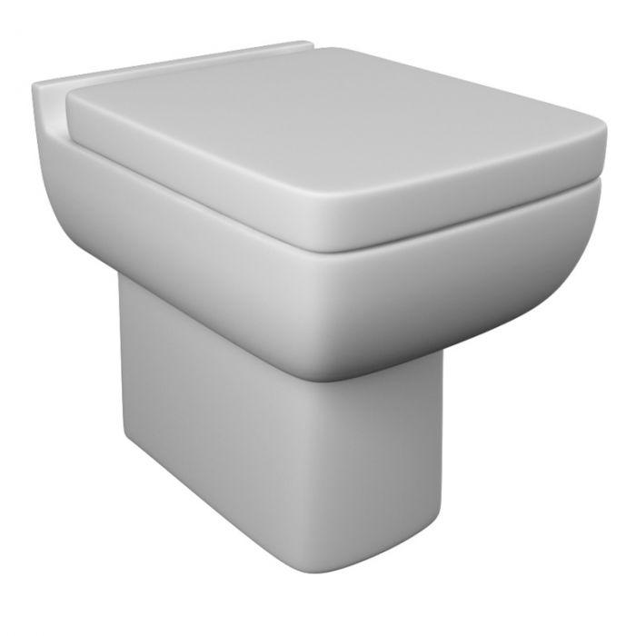 Kvit Options 600 Soft Close Seat White