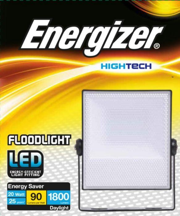 Energizer 20W Led Ip65 Floodlight Non-Pir