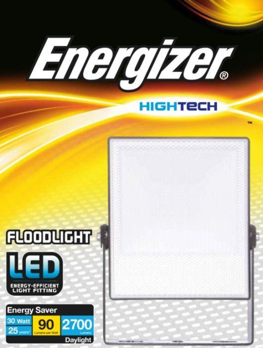 Energizer 30W Led Ip65 Floodlight Non-Pir