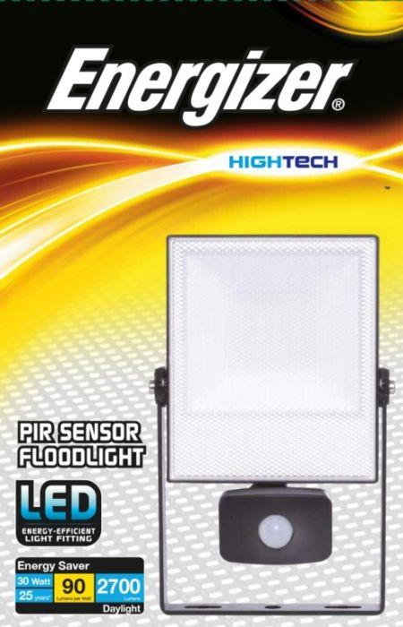 Energizer 30W Led Ip44 Pir Floodlight Pir