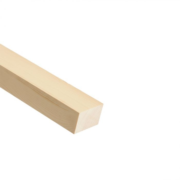 Cheshire Mouldings Pefc Knotty Pse Timber 2.4M X 69 X 44