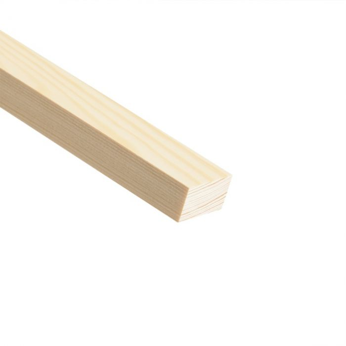 Cheshire Mouldings Knotty Pine Stripwood 2400 X 34 X 20Mm