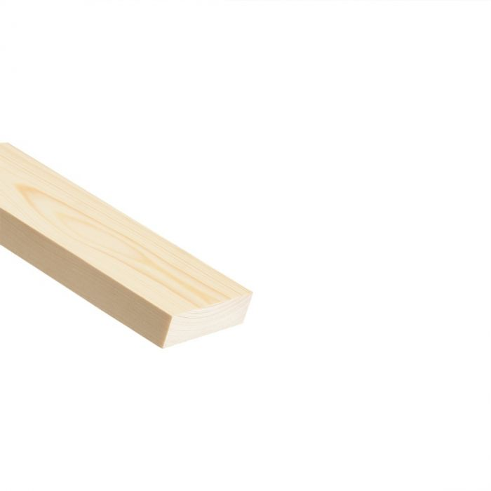 Cheshire Mouldings Knotty Pine Stripwood 2400 X 70 X 20Mm