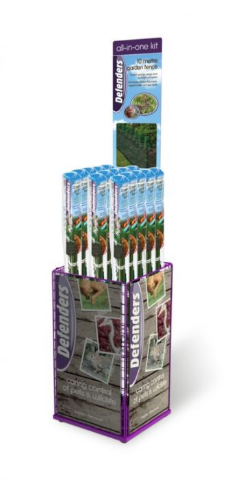 Stv All In One Kit 10M Garden Fence Display Unit 20