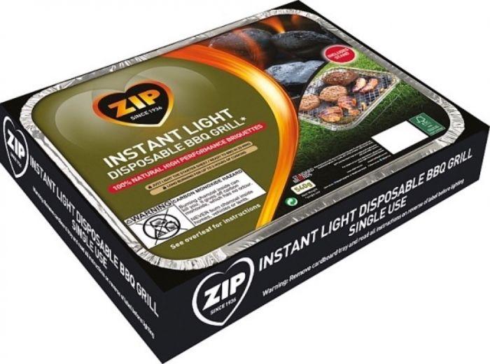 Zip 100% Natural Disposable Bbq Tray 18S