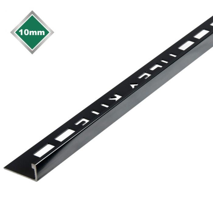 Tile Accessories L Metal Black Nickel Tile Edging 10Mm X 2.4M