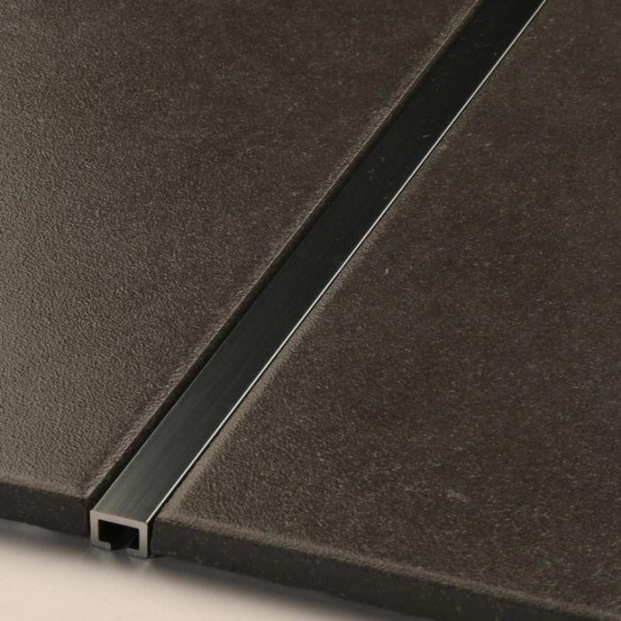 Tile Accessories Metal Black Nickel Tile Listello 10X7mm