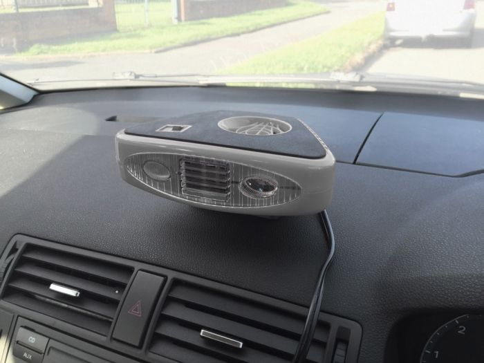 Streetwize Heat/Defroster With Light