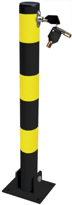 Streetwize Parking Post Round Tube