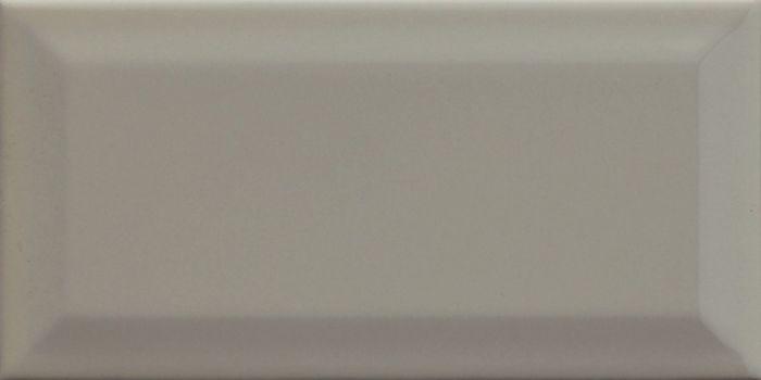 Ceramics Metro Bevelled Edge Brick Tile Grey 100 X 200Mm