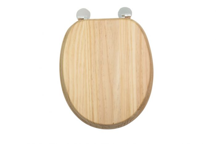 Croydex Flexi-Fix Toilet Seat Davos Blonded Pine