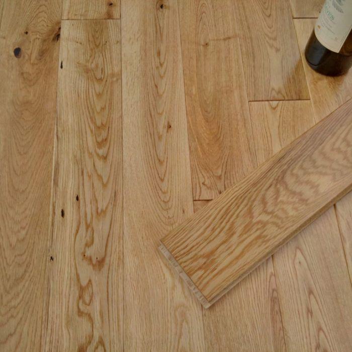 Y.T.D Limited Wide Thick Solid Oak Flooring 1.08M2 Random Length X 90Mm X 18Mm