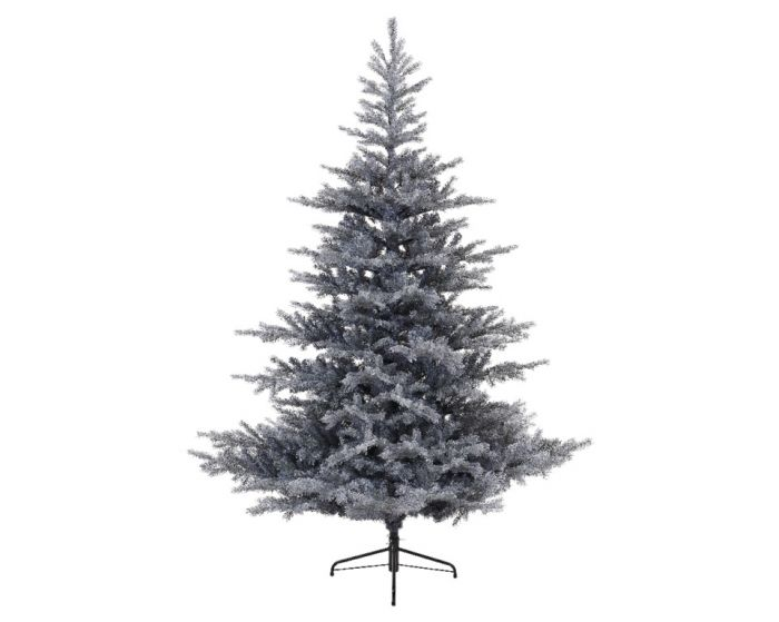 Frosted Grandis Fir Hinged Tree