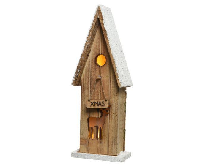 Led Wooden Bird House