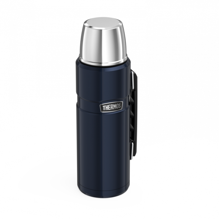 Thermos Stainless King Flask Midnight Blue 1.2L
