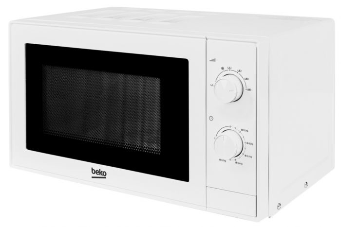 Beko White Manual Microwave 700W