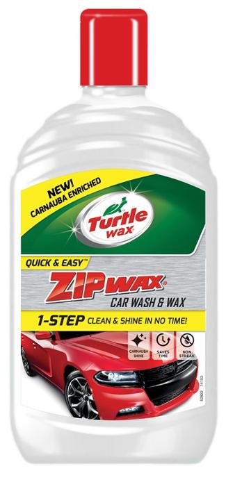Turtle Wax Zip Wax Wash N Wax 500Ml
