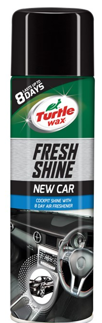 Turtle Wax Fresh Shine New Car 500Ml Aerosol