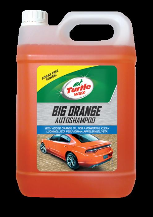 Turtle Wax Big Orange Car Shampoo 5L