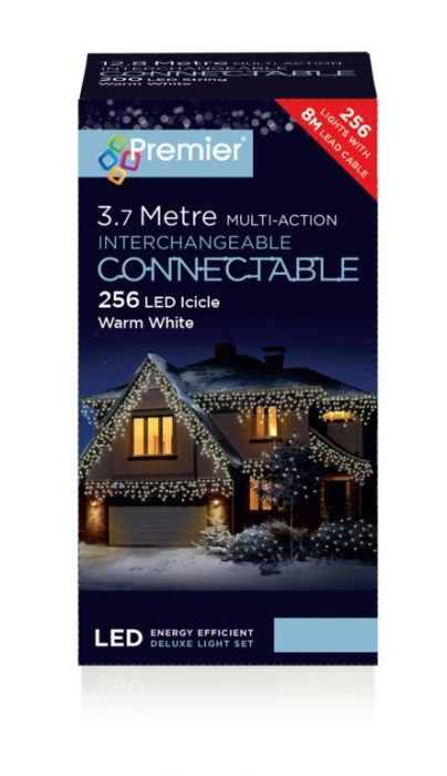 Connectable Icicle Lights